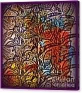 Wall Paper Abstract Canvas Print