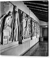 Wall Sculpture At Scripps Canvas Print