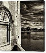 Walled-up Window Canvas Print