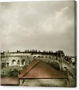 Walls Of Dubrovnik Canvas Print