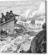 Walrus Hunt, 1875 Canvas Print