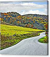 Wandering In West Virginia Canvas Print