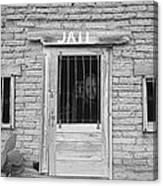 Wanted - Get Out Of Jail  Card  Canvas Print