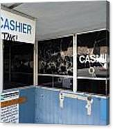 Wanted Cashier  Canvas Print