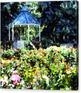 War Memorial Rose Garden 1  Canvas Print