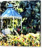 War Memorial Rose Garden 2  Canvas Print