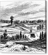War Of 1812: Bladensburg Canvas Print