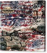 War Wagons    Canvas Print