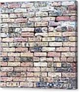 Warehouse Brick Wall Canvas Print