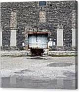 Warehouse Loading Dock Door 3 Canvas Print