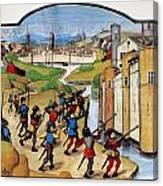 Warfare: Siege Of Arras Canvas Print