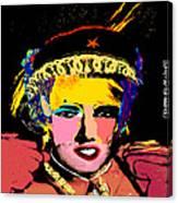 Warhollage 2d Canvas Print