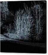 Warming Light On An Autumn Morning Canvas Print