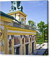Warsaw Poland - Wilanow Palace Canvas Print