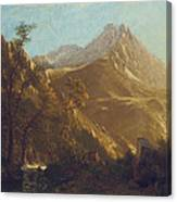 Wasatch Mountains Canvas Print