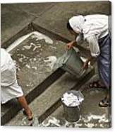 Washing At The Motherhouse Canvas Print