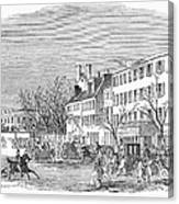 Washington, D.c., 1853 Canvas Print