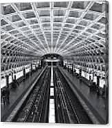 Washington Dc Metro Station II Canvas Print