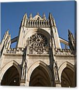 Washington National Cathedral Entrance Canvas Print