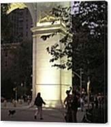 Washington Square Park Canvas Print