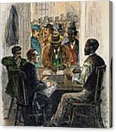 Washington: Voting, 1867 Canvas Print
