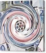 Wasting Money, Conceptual Image Canvas Print