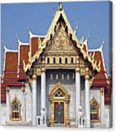 Wat Benchamabophit Ubosot Dthb180 Canvas Print