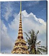 Wat Chalong 5 Canvas Print