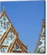Wat Chamni Hatthakan Gables Dthb934 Canvas Print