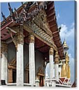 Wat Intarawiharn Ubosot Dthb1277 Canvas Print