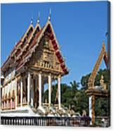 Wat Kan Luang Ubosot Dthu179 Canvas Print