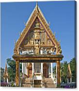 Wat Kan Luang Ubosot Gate Dthu181 Canvas Print