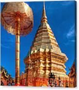 Wat Phrathat Doi Suthep Canvas Print