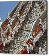Wat Suan Phlu Ubosot Angel Gable Finials Dthb227 Canvas Print