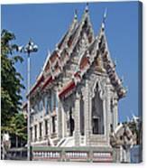 Wat Suan Phlu Ubosot Dthb1128 Canvas Print