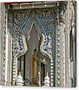 Wat Suan Phlu Ubosot East Portico Dthb1133 Canvas Print