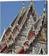 Wat Suan Phlu Ubosot Gable Dthb1132 Canvas Print
