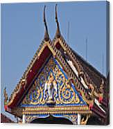 Wat Thewarat Kunchorn Gable Dthb286 Canvas Print