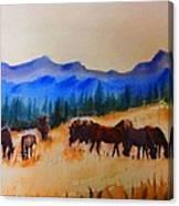 watch I Canvas Print