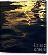 Water And Light Canvas Print