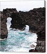 Water Arches Canvas Print