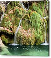 Water Cascade Canvas Print
