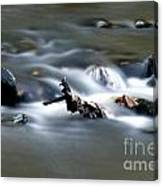 Water Cascades Canvas Print