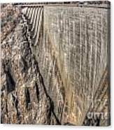 Water Dam Canvas Print