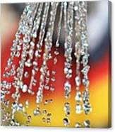 Water Diamonds Canvas Print
