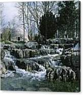 Water Flowing In A Garden, St. Fiachras Canvas Print