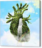 Water From The Heart Canvas Print