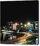Water Front Canvas Print