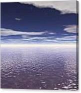 Water Horizon Canvas Print