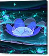 Water Lilies In Wonderland 2 Canvas Print
